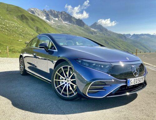 Mercedes-Benz EQS…el auto eléctrico más sofisticado con todo el lujo y eficiencia posible.