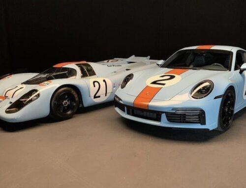 Porsche homenajea a Pedro Rodríguez en el 50 aniversario de su desaparición con un 911 único que se subastará con fines benéficos.