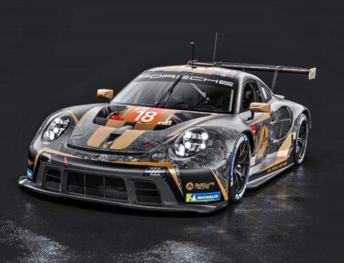 En LeMans 2021 un Porsche con una decoración ad hoc contra la discriminación racial por parte del Absolute Racing