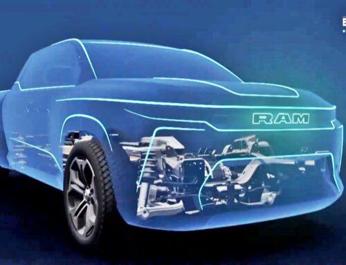 RAM anuncia una nueva pick up mediana monocasco (unibody) 100 % eléctrica junto con dos grandes 1500 electrificadas