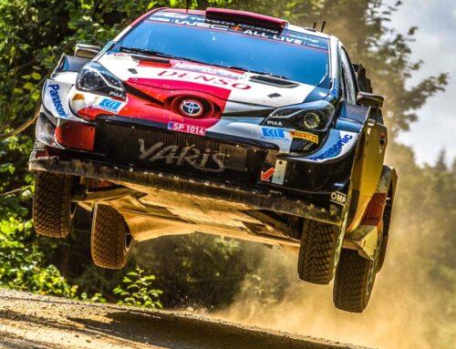 WRC Rally de Estonia: Rovanpera (Toyota Yaris) completa el viernes en la punta.