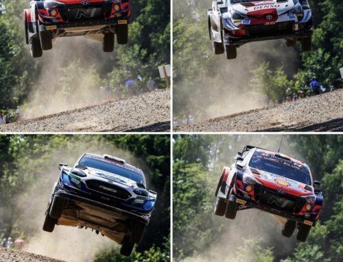 WRC Rally de Estonia: Kalle Rovanperä (Toyota Yaris) se asegura el primer lugar en la general al concluir los especiales del sábado.