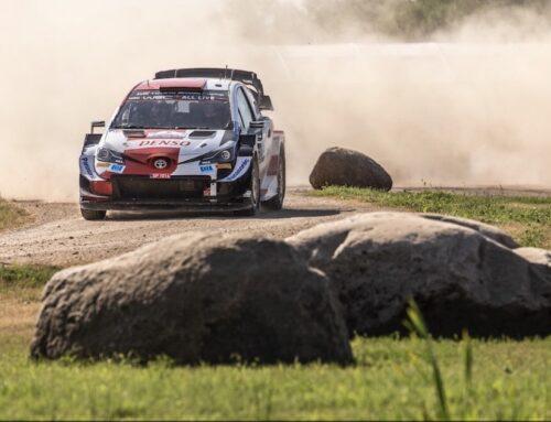 WRC Rally de Estonia 2021 Kalle Rovanperä (Toyota Yaris) ganó su primer rally del WRC y se convierte en el ganador más joven de la historia del WRC.