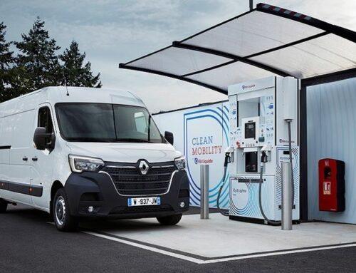 Renault comercializará una gama de tres furgonetas Master con energía de celda de combustible (fuel cell) alimentadas por hidrógeno.