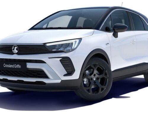 Nuevo Vauxhall/Opel Crossland Griffin para aumentar el atractivo del SUV y hacer frente a rivales como el VW T-Cross y el Ford Puma.