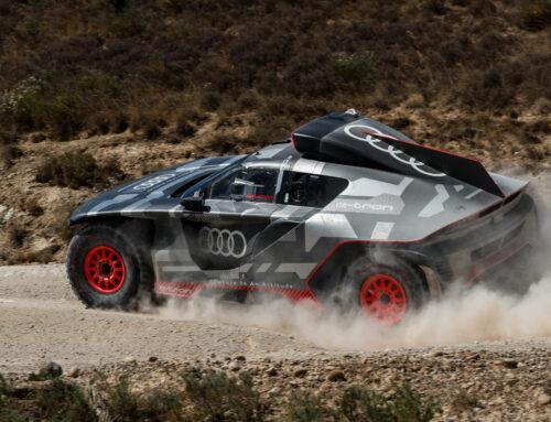 Audi RS Q E-Tron: completa una prueba en España de ocho días iniciando los preparativos para el Dakar.