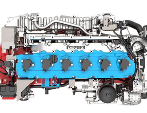 DEUTZ TCG 7.8 H2 un nuevo motor alimentado por hidrógeno estará en producción en serie a partir del 2024