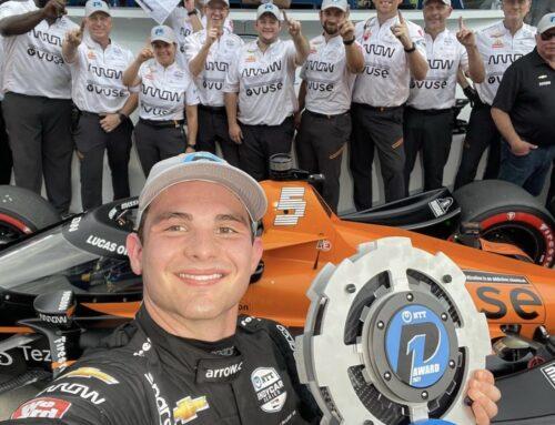 Indycar / «Pato» O'Ward (Dallara-Chevrolet de McLaren) logra la pole position para el Big Machine Grand Prix que se correrá este sábado en Indianápolis.