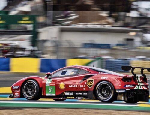 LeMans Categorías GTE Pro y Am : El equipo AF Corse Ferrari fue el Rey tanto en la GTE Pro como en la Am.