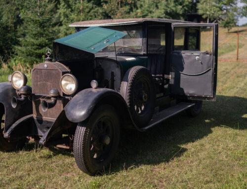 Mercedes-Benz 12/55 HP Type 300 «Mannheim» de 1927 a la venta…uno de los primeros en recibir la marca Mercedes Benz.