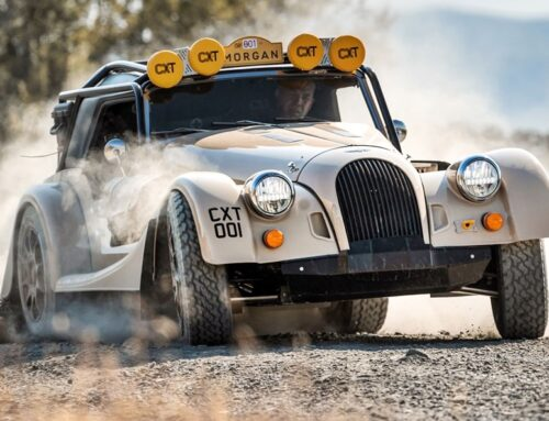 Morgan Plus Four CX-T…una versión todoterreno tracción total del deportivo del cuatro cilindros de la marca…!!!