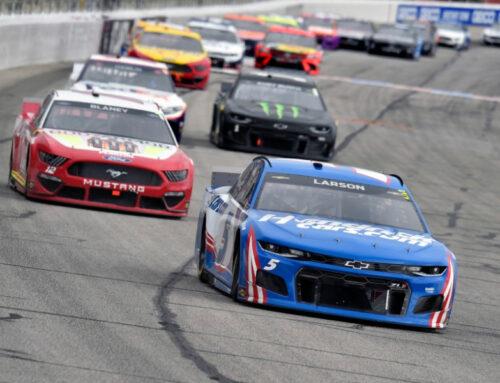 NASCAR / Tras la última carrera de temporada regular la lista de los participantes para el playoffs está lista. También se aclaró la desclasificación de Chris Buescher (Ford Mustang) por alteraciónes en la barra Panhard que en estos autos tiene importancia en cuanto a la puesta a punto.