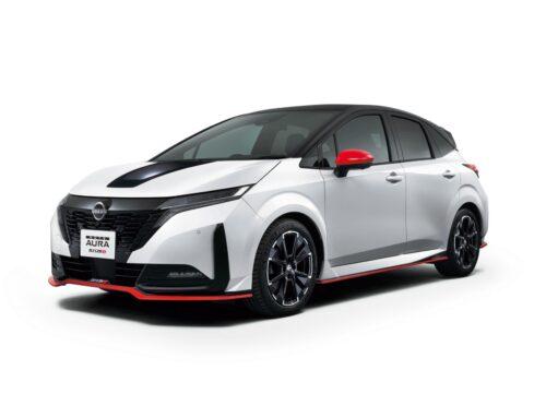Nissan Note Aura Nismo 2022 se presentó oficialmente. La mecánica con un motor de 3 cilindros generador y 2 eléctricos de tracción se mantiene igual.