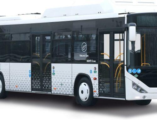 Otokar la importante marca turcaaumenta las exportaciones a diferentes destinos del autobus ecológico Otokar Kent C CNG.