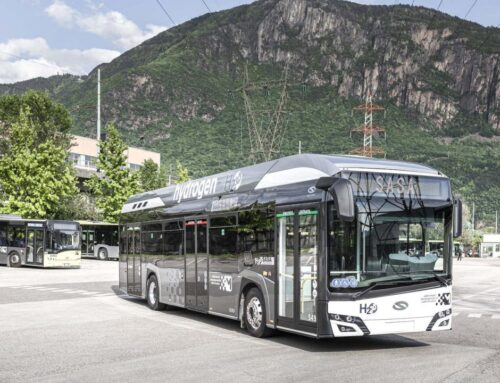 Solaris Urbino 12 fuel cell bus hydrogen. Ya se recibió el primer pedido desde Italia.