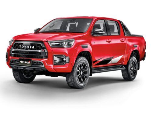Toyota Hilux Revo GR Sport…fue presentada en Tailandia con un kit deportivo y versiones Low y Hight-Rider.
