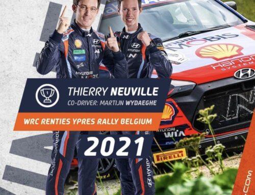 WRC Rally de Ypres – Triunfo de Thierry Neuville (Hyundai i20) , Ott Tanäk (Hyundai i20) gana el Power Stage.