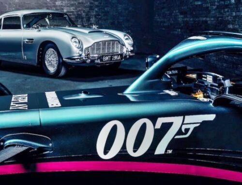 Fórmula uno / Nuevas decoraciones en los Aston Martin y Alfa Romeo para el GGPP de Monza.