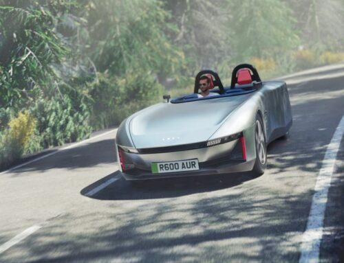 Concept car Aura presentado como el roadster EV británico del futuro…ofrece 640 km de alcance y cuenta con una construcción sostenible.