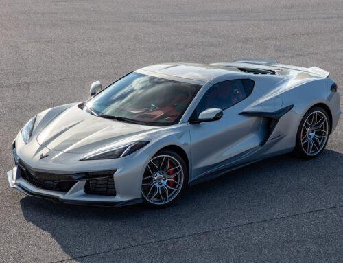 Chevrolet Corvette Z 06 Se mostró una primera imagen oficial pocos días antes de su presentación(Full reveal coming 10.26.21).