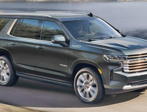 Chevrolet Tahoe y Suburban 2022 con opción del V8 6.2 ltros y como plus les agrega nueva tecnología. No todo es eléctrico en esta vida…