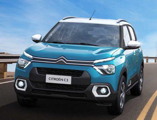 El nuevo Citroën C3 2022 se presentó oficialmente en Brasil con dos opciones de motor.
