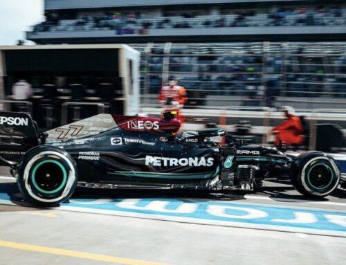 Fórmula 1 GGPP de Rusia en Sochi /Vatteri Bottas lidera las Prácticas Libres 1 en un 1-2 de Mercedes