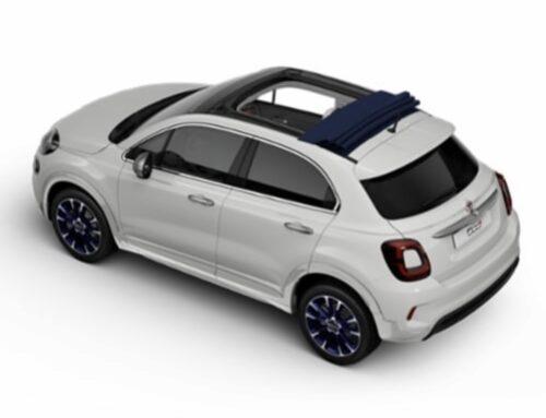 Fiat 500X Dolcevita…Fiat amplía la gama 500X con la incorporación de un techo corredizo de lona.