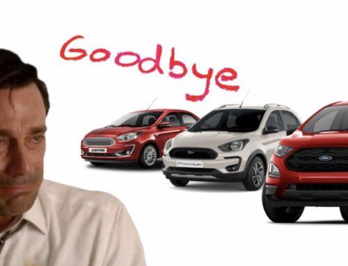 Ford se retira de la India «tras años de pérdidas acumuladas».