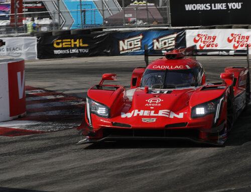 IMSA Pipo Derani y Felipe Nasr con Cadillac DPi-V.R triunfaron en el Acura Grand Prix de Long Beach.