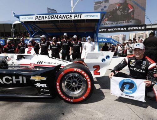 IndyCar / JOSEF NEWGARDEN (Dallara-Chevrolet de Penske) logra la pole en Long Beach.