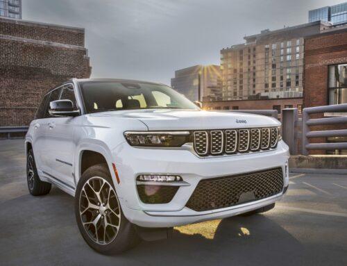 Nuevo Jeep Grand Cherokee SWB (distancia entre ejes corta) para 5 plazas 2022 con la primera opción híbrida para el modelo.
