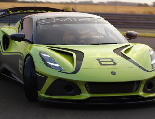 Lotus lanza su modelo Emira GT4 para competir en la FFSA GT GT4 SERIE EUROPEA.