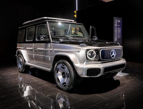 Mercedes-Benz EQG concept…Incluso el mito de los 4×4 se vuelve eléctrico