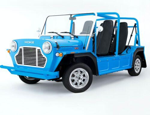 El renacido y muy británico Mini Moke vuelve a ser producido en el Reino Unido.