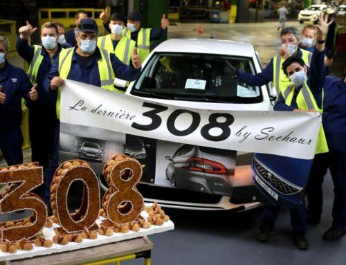 Peugeot 308 2. La última unidad salió de la fábrica de Sochaux, Francia el 10 de septiembre 2021.
