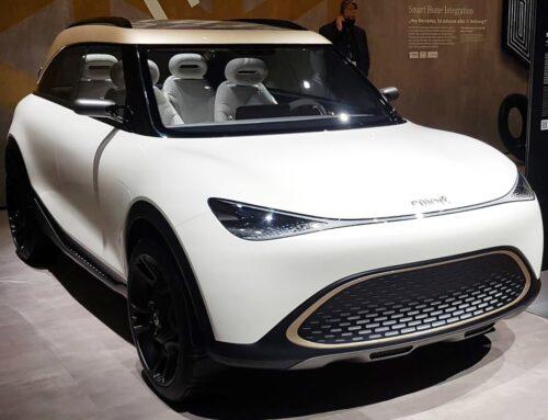 Nuevo concept Smart 1 … la nueva etapa de la marca Smart ahora propiedad parcial de Geely viene en forma de un pequeño SUV.