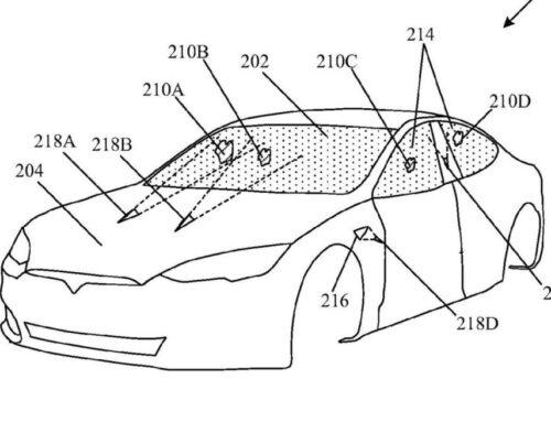 A Tesla le aprobaron en EEUU la patente de los limpiaparabrisas a Rayos láser.
