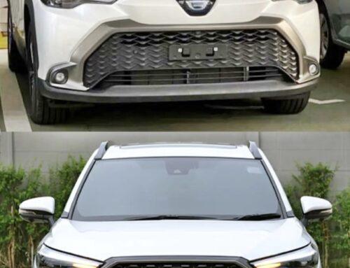 El Toyota Corolla Cross 2022 para el mercado japonés (JDM) se ve un poco diferente al del Mercosur y EEUU.