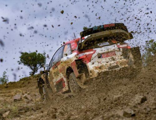 WRC Rally de Grecia / Kalle Rovanperä con Toyota Yaris puntero al finalizar las especiales de este viernes.