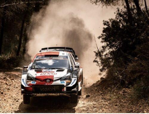 WRC / Rally de Grecia Aún continúa líder Kalle Rovanperä (Toyota Yaris) aunque perdió algo de tiempo por la tarde en Grecia.