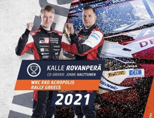 WRC Rally de Grecia / Kalle Rovanperä (Toyota Yaris) dominador absoluto, consigue su segunda victoria de la temporada.