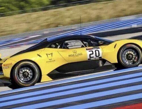 El Brabham BT63 Concept GT2 causó sensación en Paul Ricard ensu debut en la GT2 European Series este fin de semana.
