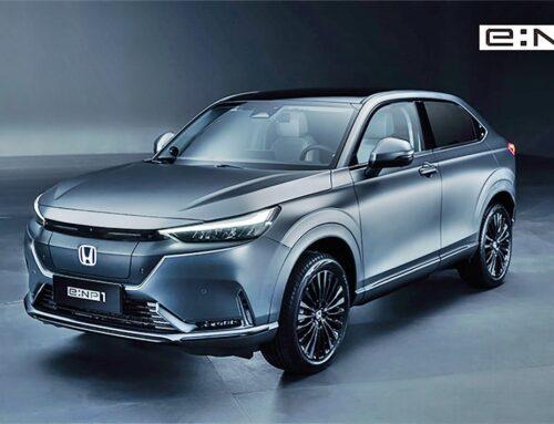 Nuevos Honda e: NP1 y e: NS1 SUV eléctricos con alcances de 500 km. Fueron presentados inicialmente en China.