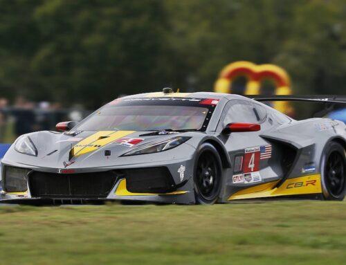 IMSA en el VIR (Virginia International Raceway). En GTLM 1 y 2 del Corvette Racing, y en la clase GTD victoria de Porsche.