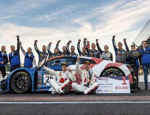 8H Indy / Intercontinental GT Challenge. El equipo Audi Sport Team Saintéloc venció en las 8 horas de Indianápolis segunda ronda del IGTC con Markus Winkelhock, Christopher Haase y Patric Niederhauser.