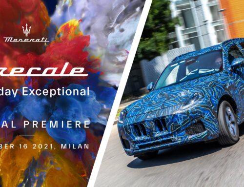 Hace un mes, Maserati anunció que el estreno oficial del SUV Grecale tendría lugar en Milán el 16 de noviembre…pero a los pocos días retrasaron todo para el 2022.