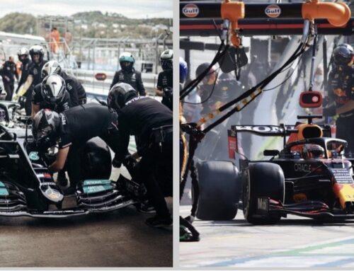 Fórmula uno y sus estrategias de moda….los undercut, los overcut o sorprender con una entrada a pits no prevista..en gran parte es lo que está definiendo las carreras.