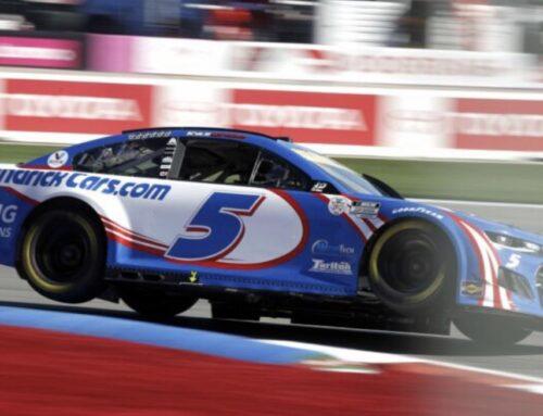Nascar / Kyle Larson con Chevrolet Camaro ganador en Charlotte. Se acerca la definición de los play off con 8 finalistas.