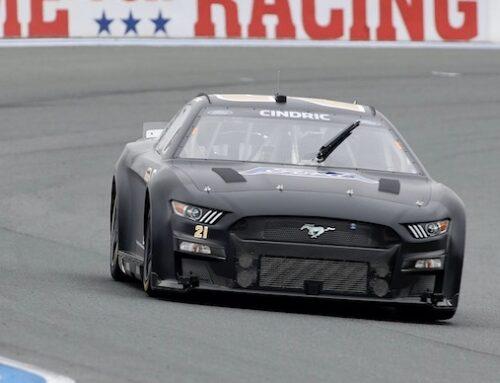 NASCAR / Los autos Next Gen en sus test para el 2022 con algunos problemas en el diseño de la dirección que se evidenció en las curvas del circuito de Charlotte Roval.